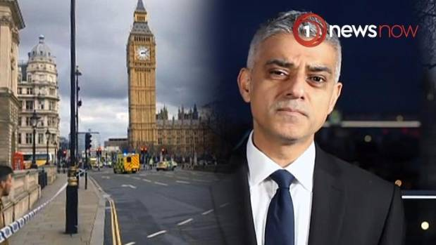 'We stand together' - London Mayor praises police bravery in reaction to Westminster attack