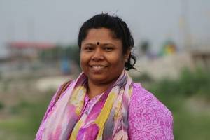 """""""Use your voice and consumer power to demand respect for our rights"""": Kalpona Akter from the Bangladesh Center for ..."""