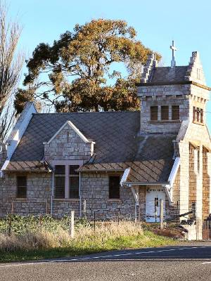 The future of St Oswald's Anglican Church, near Wharanui, has yet to be decided.