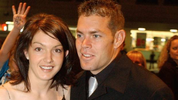 Brett Kimmorley's wife Sharnie died in March after a battle with brain cancer.