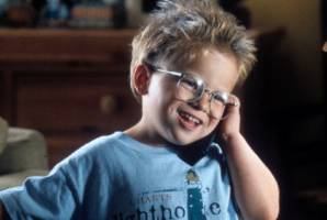 Jonathan Lipnicki became famous as the cute kid in Jerry Maguire.