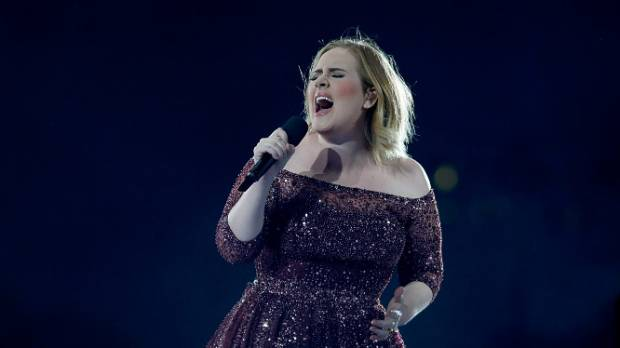 What Adele has to swear about between the songs is almost as good as the songs themselves.