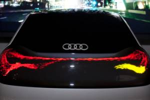 Audi equips the light fantastic.