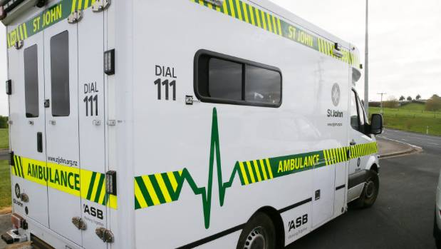 One man was taken to Te Kuiti Hospital and transferred to Waikato Hospital by ambulance (file photo).