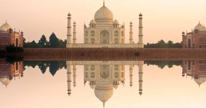 The Taj Mahal is perhaps one of the most enduring declarations of love.