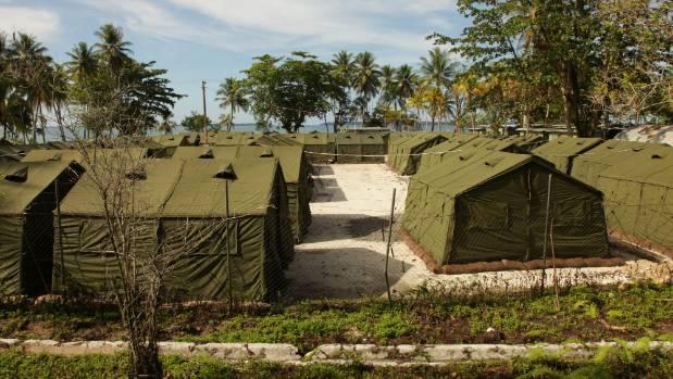 Papua New Guinea's Manus Island detention centre in October, 2016.