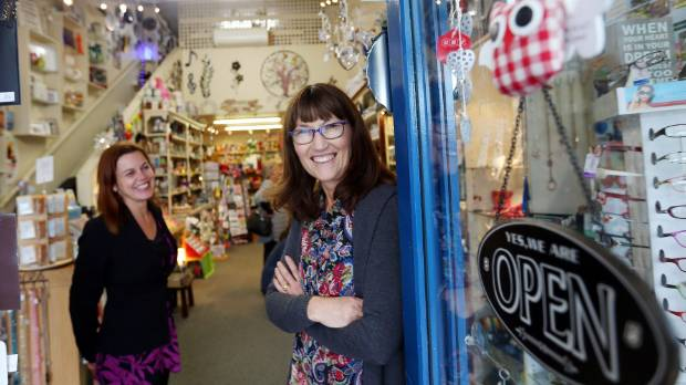 Big cities slow to embrace easter trading compared to country geraldine gift shop manager jaye kircher and sales assistant jill roberts are keen to open on negle Image collections