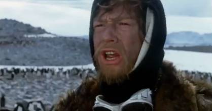 John Hurt in the lead role of the Cry of the Penguins.