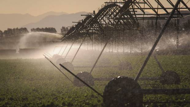 A farm irrigation system could cost a fair bit if we all had to pay for water, Martin van Beynen reckons.