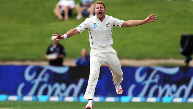 Neil Wagner is known for his vigorous style of play, but he's also showed his sporting side.