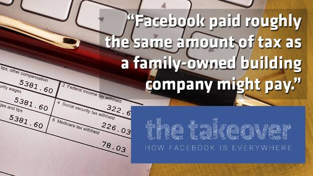 What's the deal with Facebook and tax?