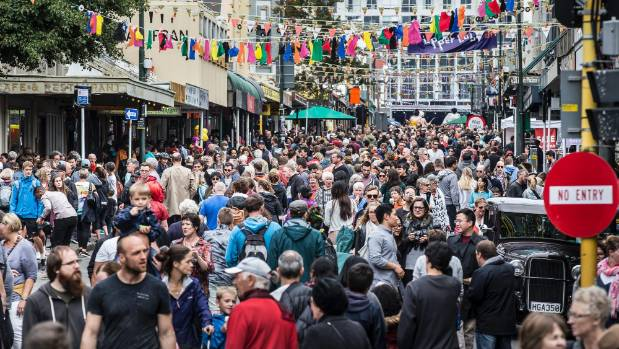 Vibrant Wellington has received a thumbs up in a global survey.