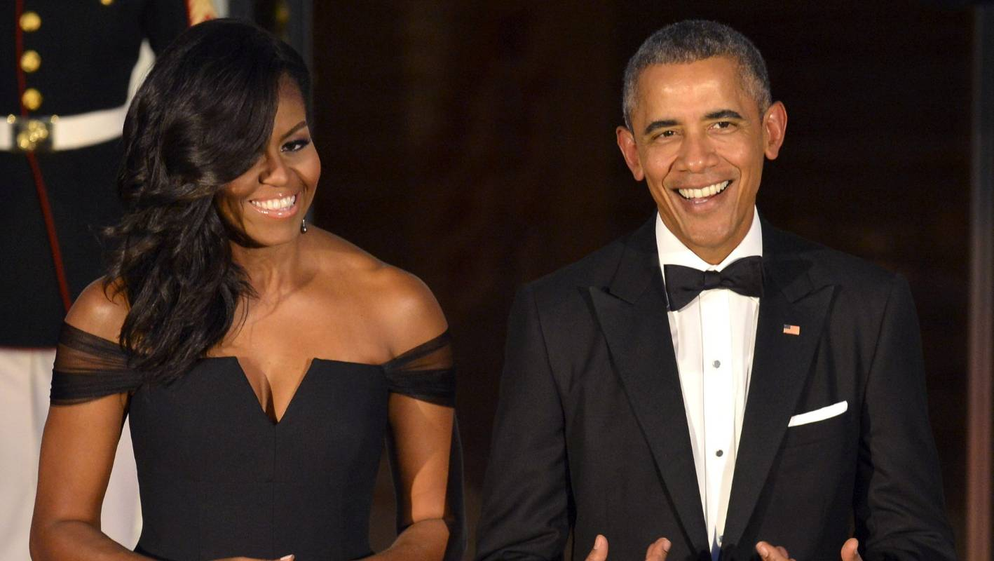 Obamas Rihanna And Harry Styles Make Vanity Fair S Best Dressed List Stuff Co Nz