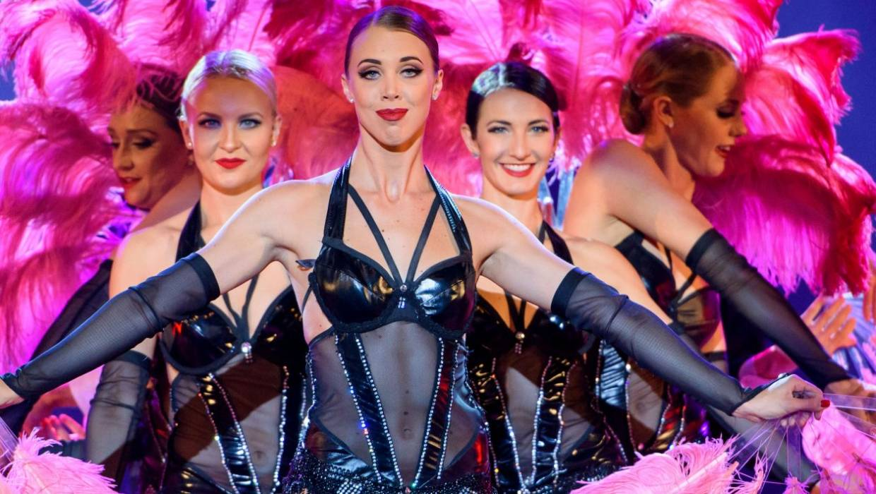 34c22b34aa8 Moulin Rouge showgirl Marissa Burgess and her troupe headed for New Zealand
