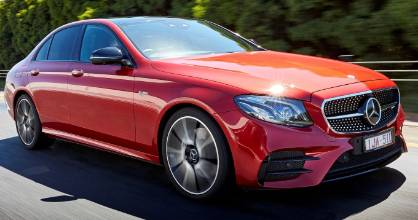 Latest addition to Mercedes-AMG's V6 family is the E 43. It's swift... but also remarkably smooth.