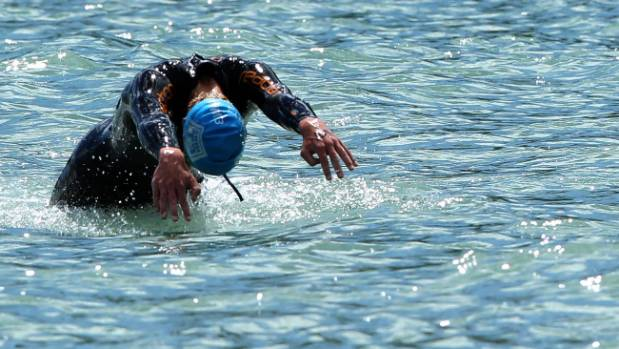 Hayden Squance ended his sea swim season with another victory, taking out the 2.8km Haulashore Circuit.
