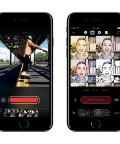 Clips lets customers take videos and add animated captions and titles, complete with colourful emojis.