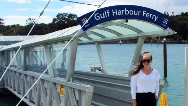 Caitlin Watson is challenging Auckland Transport's view there is no demand for a weekend ferry service to the city.