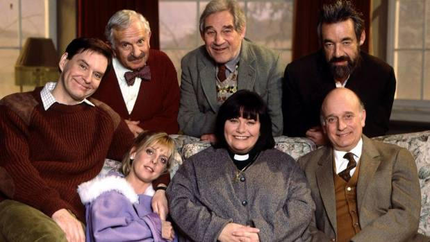 The Vicar of Dibley cast