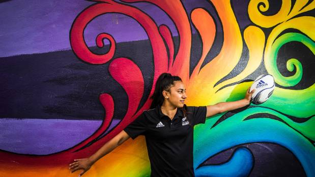 Motueka High School student Risaleaana Pouri-Lane, 16, has been playing for the Black Ferns development rugby sevens ...