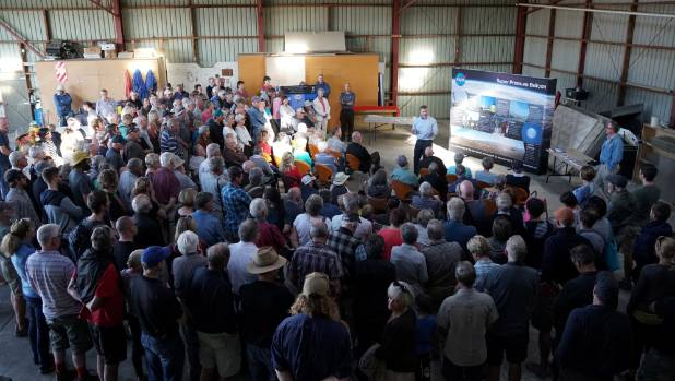 Nearly 250 people attended NASA's open day on March 23.