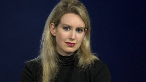 Elizabeth Holmes faces the possibility of spending the rest of her life behind bars