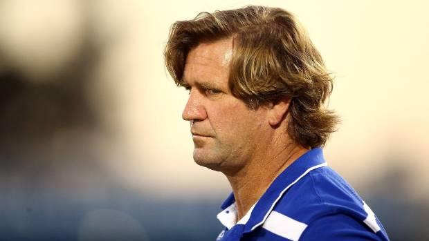 Bulldogs coach Des Hasler.