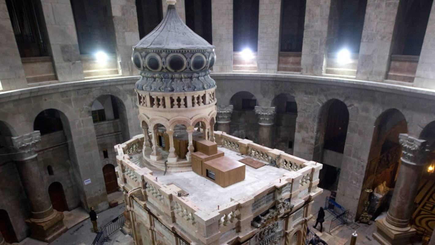 Jew Detector: Tomb Of Jesus Reopens To Public After US$4 Million