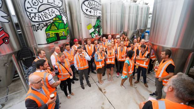 Good George Brewing was unveiled as the official beer of the World Masters Games at a special function in Hamilton.