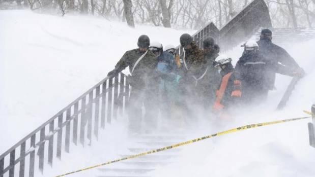 Avalanche kills seven high school students, instructor at Japan ski resort