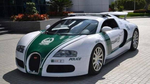 World's fastest police car is a Bugatti Veyron