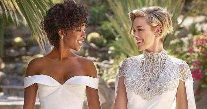 Orange is The New Black's Samira Wiley has gotten married and her dress is utterly gorgeous.