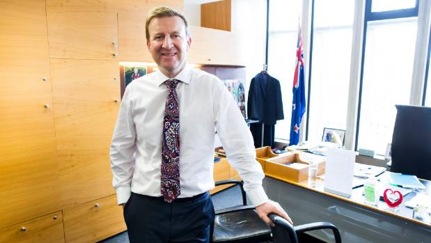 Minister of Health Jonathan Coleman has been leading negotiations with the aged care sector and unions - securing pay ...