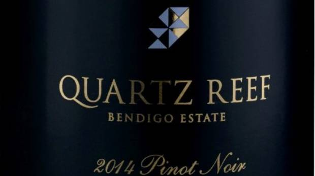 Quartz Reef Bendigo Estate Pinot Noir 2014.