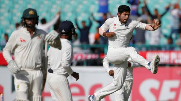 India set for victory after Australia collapse