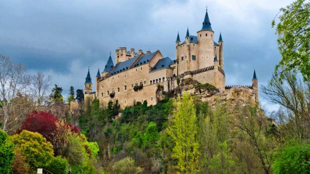 The fairy tale fortress that is Segovia's Alcazar.