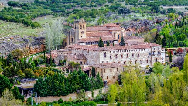 Santa Maria del Parral is a convent just outside the walls of Segovia.