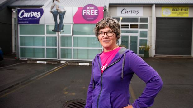 Curves New Plymouth owner Gill Lambert is celebrating 10 years in business.