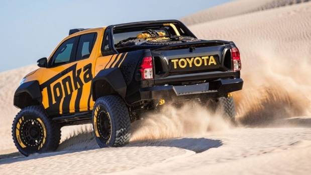 Toyota transforms HiLux into a real life Tonka Truck