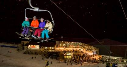 In July Wednesday will be added to Fridays and Saturdays of nigh skiing at Coronet Peak.
