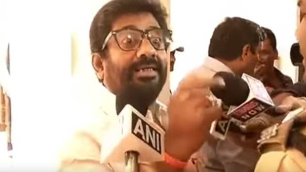 People looking at one side of the coin: Shiv Sena