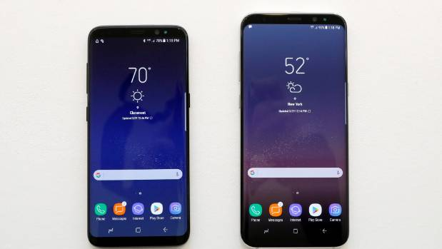 Samsung Galaxy S8 and S8+ smartphones have been a hit.