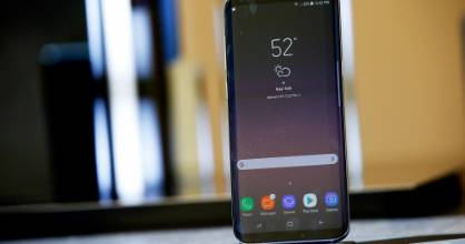 A Samsung Galaxy S8 will be available in stores on May 1.