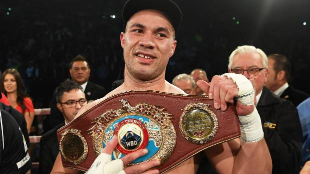The Kiwi heavyweight has contested 18 of his 22 professional bouts on home turf.
