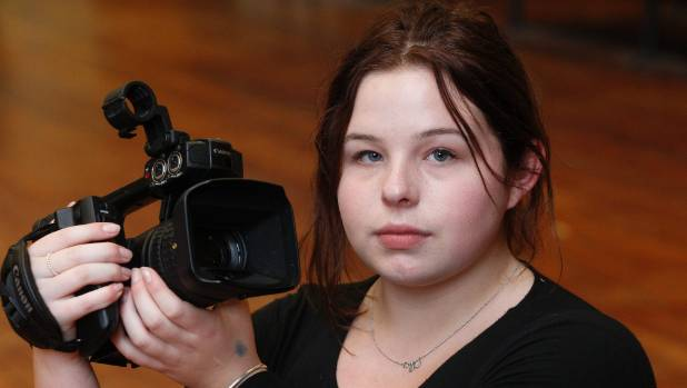 Stella Atkinson, a Wellington High School year 13 student has been inspired  to make a