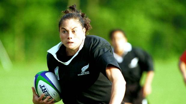 Former Black Fern and Labour MP Louisa Wall struggled with homophobia during her playing career.