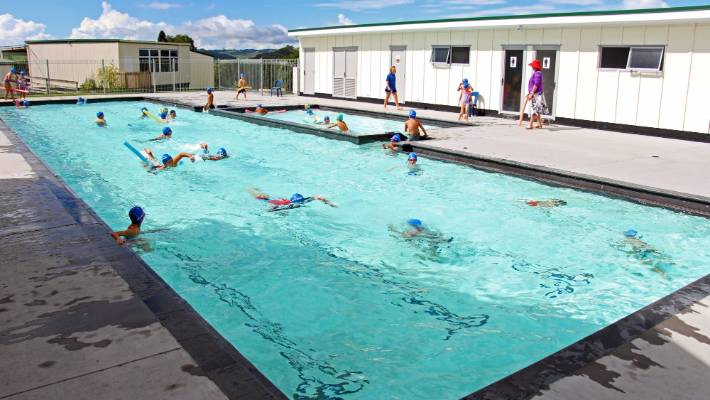 A small country school with less than 100 students builds a 270 000 pool for Marlborough college swimming pool