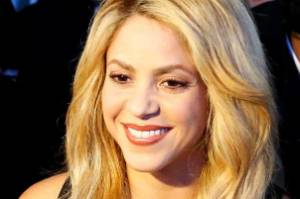 Colombian singer Shakira and U.S. actor Forest Whitaker are pictured during the Crystal Awards ceremony of the annual ...