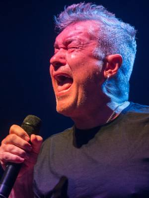 Jimmy Barnes in concert in Palmerston North.