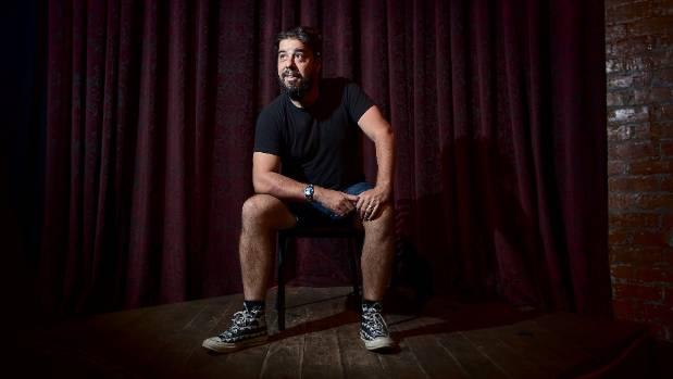 Comedian Ben Hurley regularly returns home to Taranaki to host the monthly Taranaki Comedy Club events.